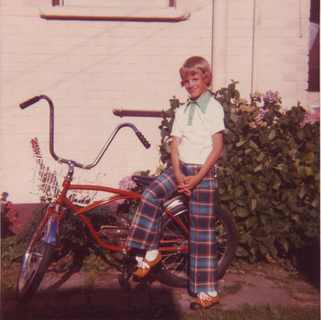 9 years old and stylin' in 1973