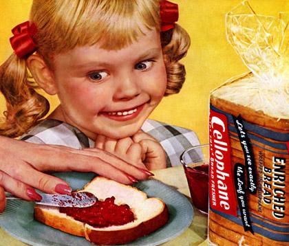 Crazy girl likes jam