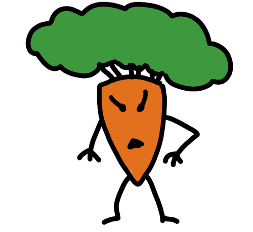 Angry Carrot Surface quick doodle