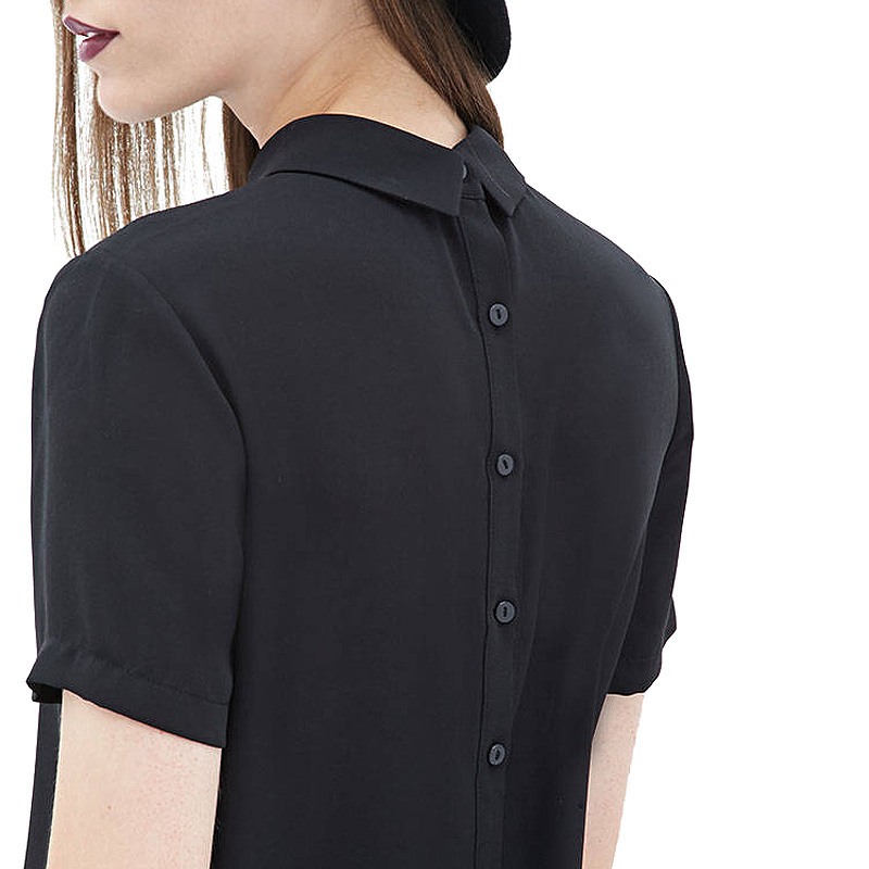 Back buttons shirt