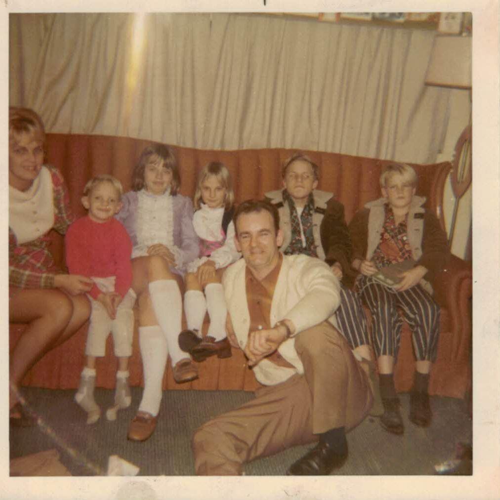 The family circa 1968