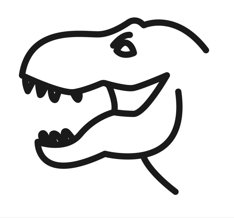 Autodraw Googlesaurus Rex